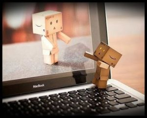 Abraço virtual